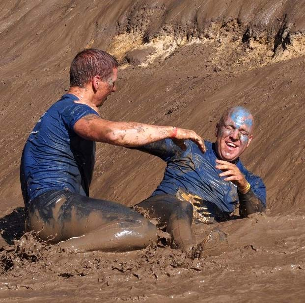 Nog Startplekken Volwassenen Obstacle Run
