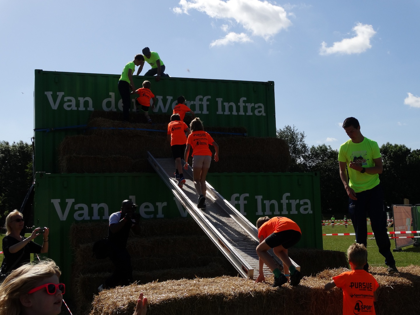 Obstacle Run Op 25 Juni 2016