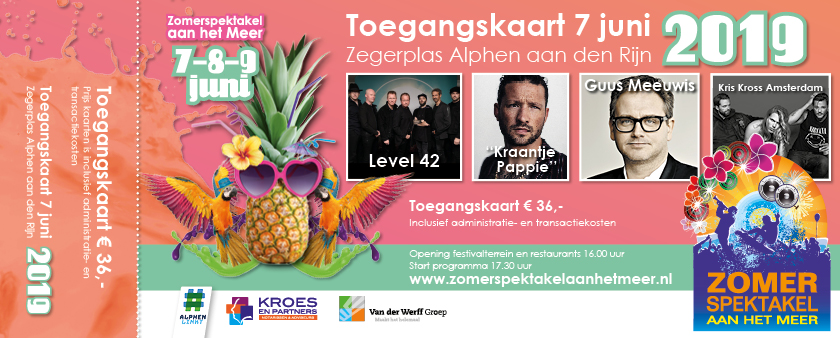Zaterdag 26 Januari Start Verkoop Tickets